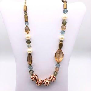 Felicia beaded necklace